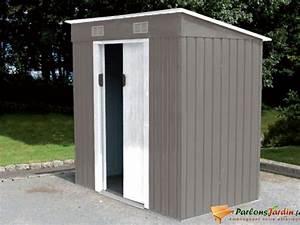 Abri De Jardin Petit : abri de jardin en m tal avec toit plat grenoble 3m ~ Premium-room.com Idées de Décoration