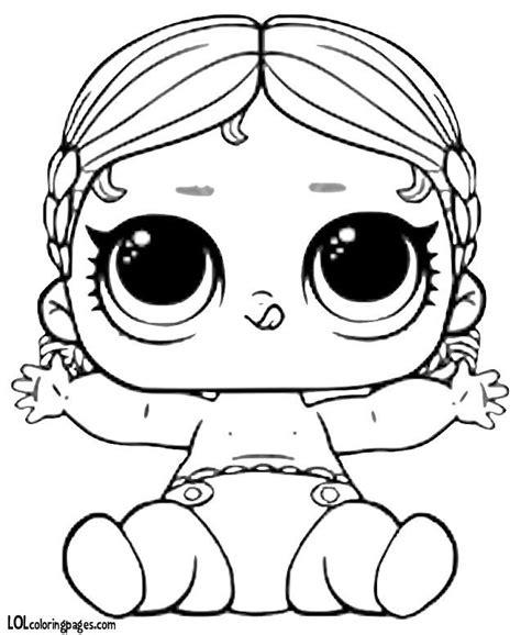 Kleurplaat Lol Unicorn by Kleurplaten Lol Serie 2 Unicorn Lol Doll Coloring