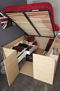 Lit Petit Espace : solution lit pour petit espace maison design ~ Premium-room.com Idées de Décoration