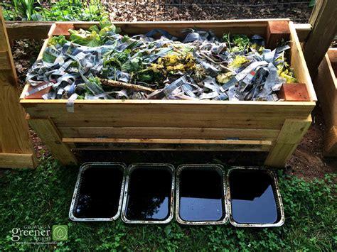 Backyard Worm Farm by How To Make Our Diy Worm Bin Growingagreenerworld