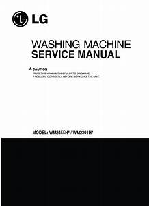 Lg Wm2455hw Service Manual  U2014 View Online Or Download