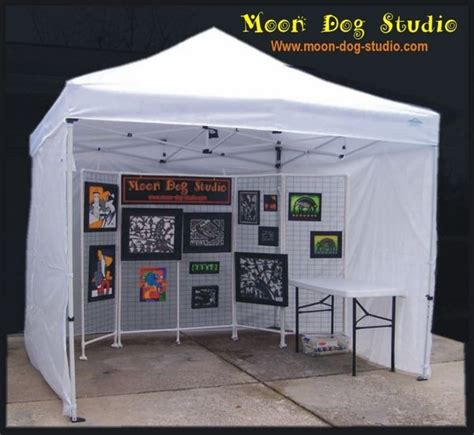 craft show  canopy package deal  sidewalls weight bags craft show booths