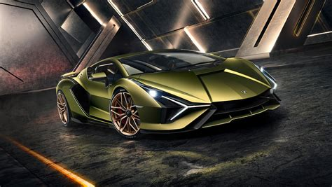 Hybrid Lamborghini Sian revealed - and it's the most ...