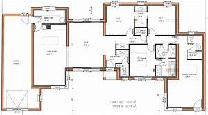 Plan De Maison 4 Chambres : cheap images about plan maison on house plans plan maison ~ Premium-room.com Idées de Décoration