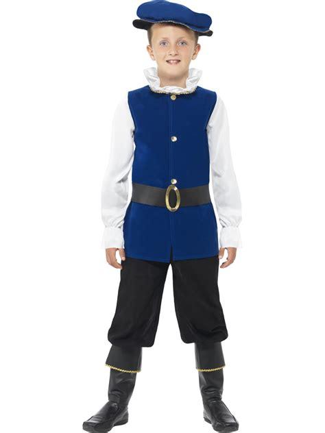 child tudor boy costume  fancy dress ball