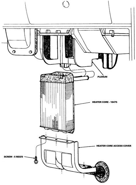 1995 Ford Ranger Wiring Diagram Vs by Ford Ranger Heater Replacement