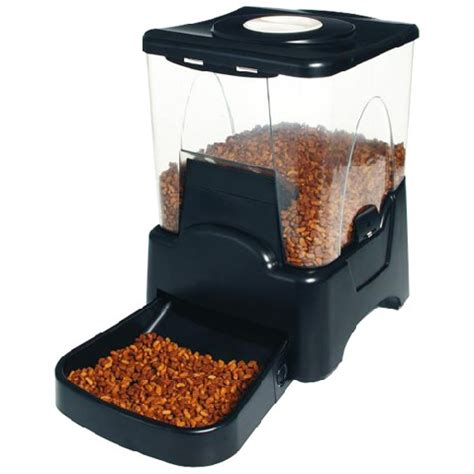 auto cat feeder new automatic pet cat feeder 4 meal timer schedule ebay