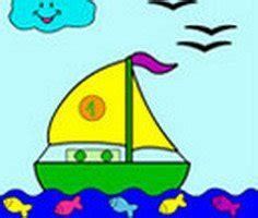 Tekne Boyama by Yelkenli Tekne Boyama Oyunu Yelkenli Tekne Boyama Oyunları