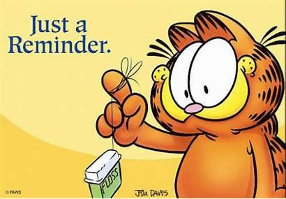 Reminder Dental Gentle Humor Garfield Cartoons Friendly