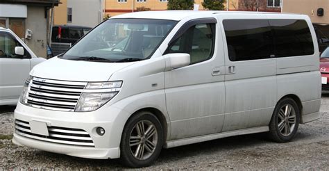 Nissan Elgrand Image by File 2002 2004 Nissan Elgrand Rider Jpg Wikimedia Commons