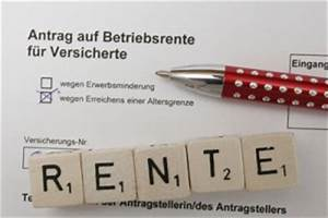 Zusatzrente Berechnen : entgeltumwandlung betriebsrente altersvorsorge rentenrecht ~ Themetempest.com Abrechnung