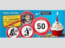 GeburtstagsSchilder als lustige Geschenkidee drucken lassen