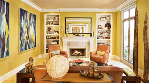 yellow living room 15 fab living room designs with yellow accent home