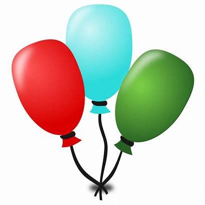 Birthday Icon Balloons Clipart Icons Vector Clip