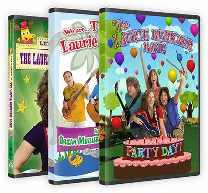 Laurie Berkner Dvds Band Songs Party Player