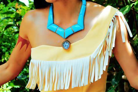 Disney Pocahontas Cosplay, Pocahontas Costume Set(C00311)