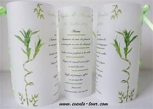Menu photophore bambou x1 for Couleur avec bleu marine 15 menu photophore champetre x1
