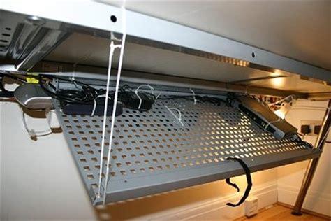 computer desk wire management cable management diy cable management pinterest