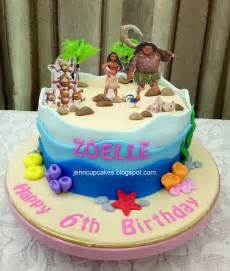 Moana Birthday Cake Ideas