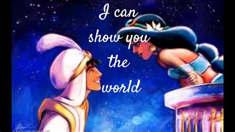 A Whole New World Aladdin Theme Song wmv YouTube