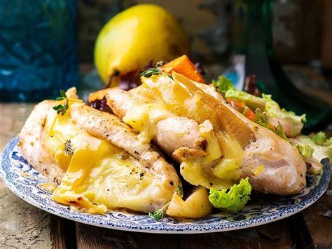 sos recettes cuisine blanc de poulet farci au fromage