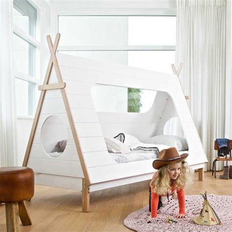Indianer Tipi Kinderzimmer by Tipi Bett Lioscas In Wei 223 Aus Kiefer Massivholz Pharao24