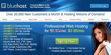 reasons   host websites  bluehost