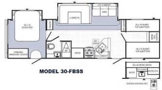 travel trailer floor plans with bunk beds floor matttroy