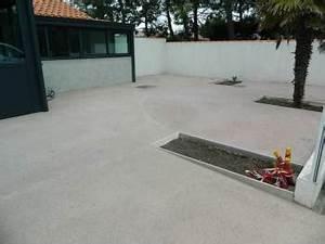 Peinture Terrasse Béton : revetement sol exterieur beton revetement revetement sol ~ Premium-room.com Idées de Décoration