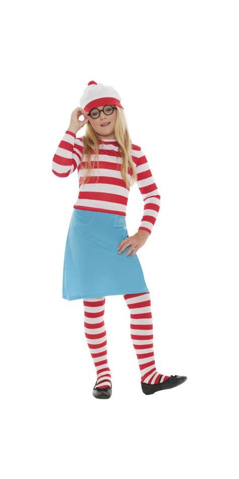 Child Whereu0026#39;s Wally Wenda Costume - 38793 - Fancy Dress Ball
