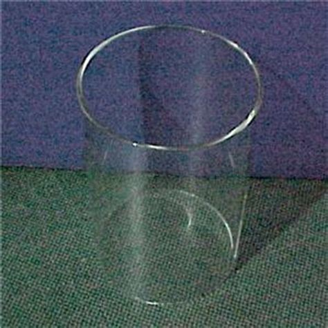 Cylindrical Glass Lamp Shades by 4 X 6 Cylinder Tube Candle Holder Light Lamp Shade Clear