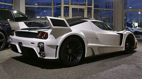 When you put it in the hands of gemballa though, there's really only one outcome you can expect: Gemballa MIG-U1 based Ferrari Enzo Revealed