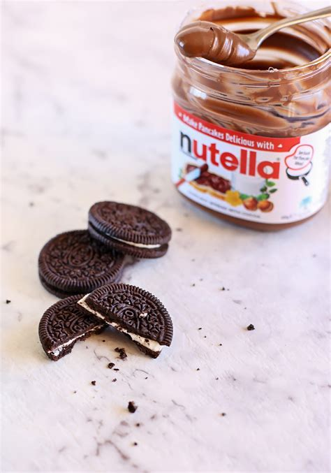 what to bake with nutella no bake nutella and oreo pie love swah