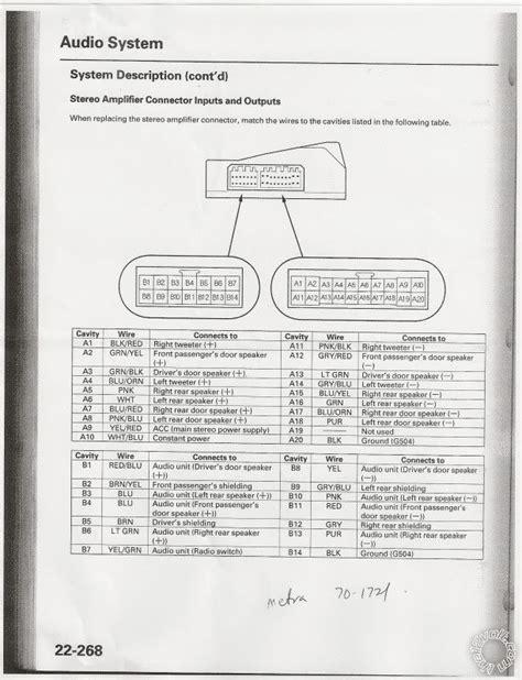 Acura Tsx Stereo Wiring Diagram Photosmart Printer