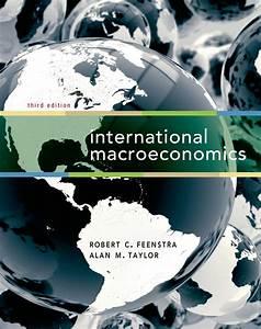 International Macroeconomics    Robert C  Feenstra  Alan M