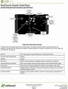 Telkonet Ss6560 Ecotouch User Manual Ecoinsight