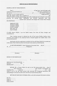 Deed Of Sale Philippines Pdf