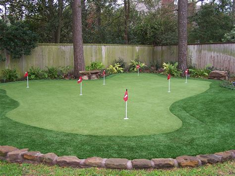 Backyard Artificial Putting Green - converting your backyard into a putting green vancouver