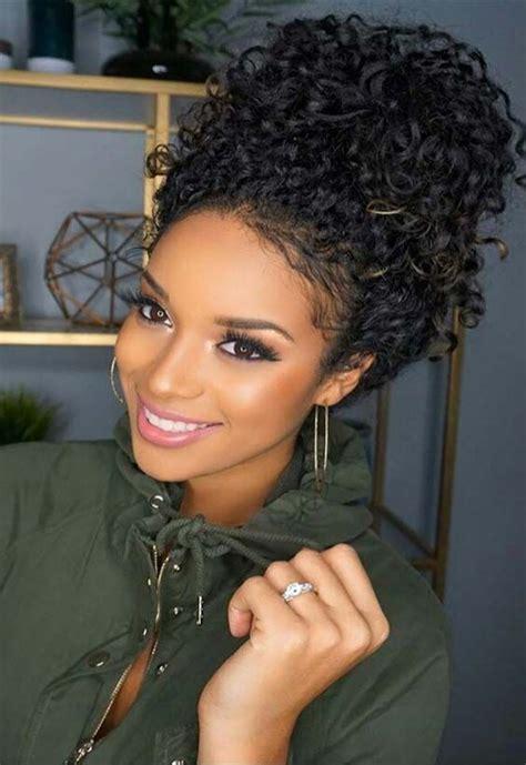 latest 2018 wedding hairstyles for black women trendy