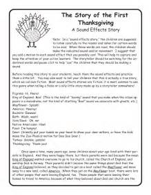 10 thanksgiving sound effects story free