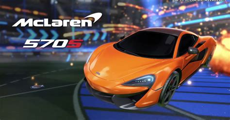 rocket league switch mclaren  ja esta disponivel