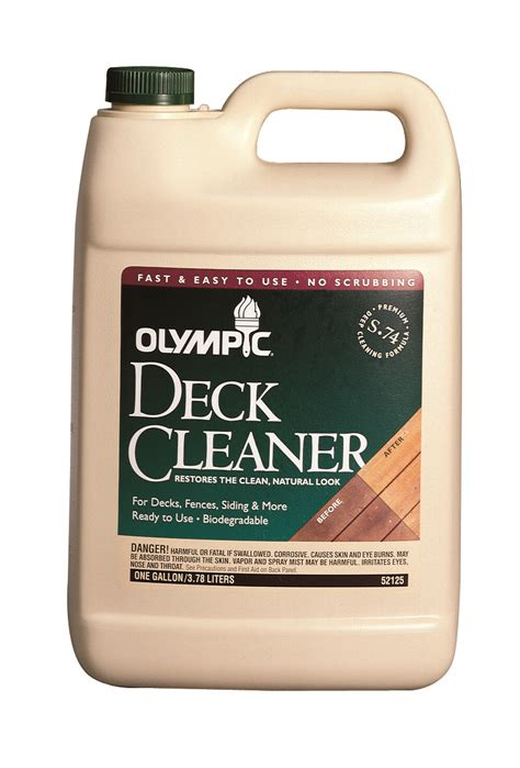 Olympic Deck Cleaner by Untitled Document Www Remay
