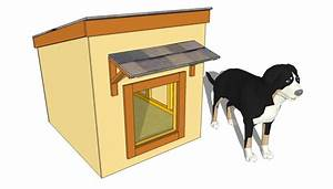 Insulated dog house plans small large how to design a for Insulated dog houses for large dogs