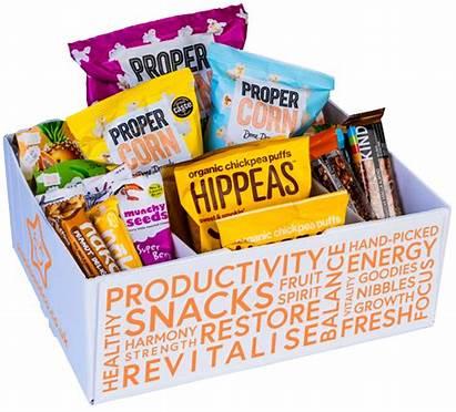 Box Nibbles Snacks Nourishing Snack Office Healthy