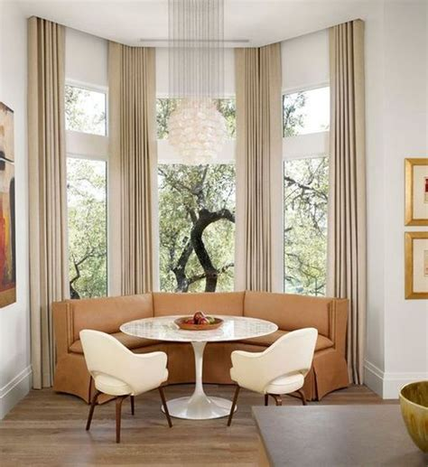 white salon styling chairs how to solve the curtain problem when you bay windows