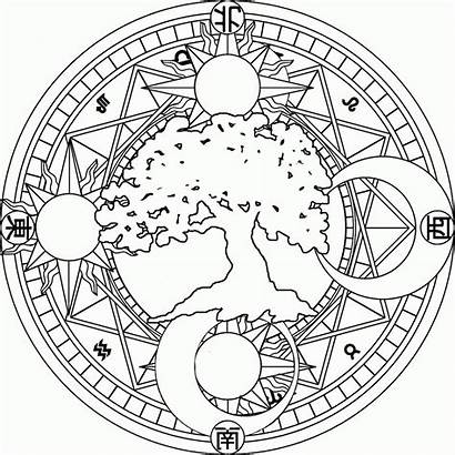 Coloring Moon Stars Pages Printable Sun