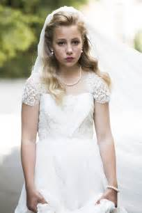 wedding dresses uk only 12 year thea 39 s wedding is stopped but 39 000 still go