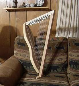 SIMPLE AND CHEAP 22 STRING CELTIC HARP