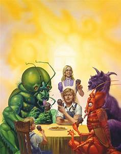 Michael Whelan • WITH FRIENDS LIKE THESE by Michael Whelan ...