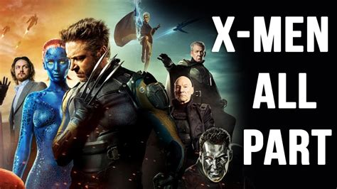 Hollywood Action Movies X Men All Part